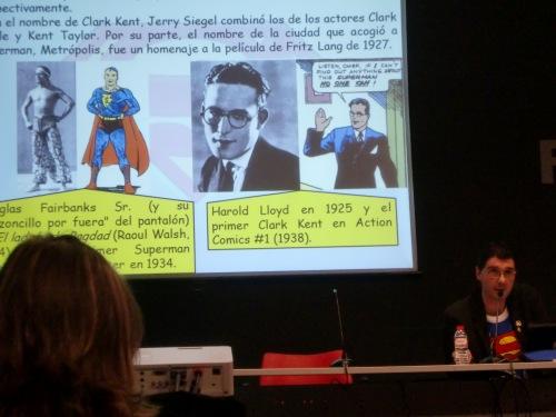 Las referencias para el personaje de Superman.