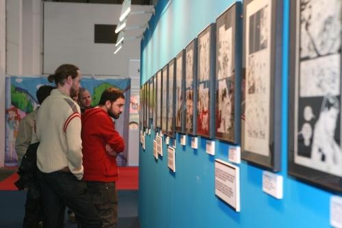 Una de las múltiples exposiciones del Saló.