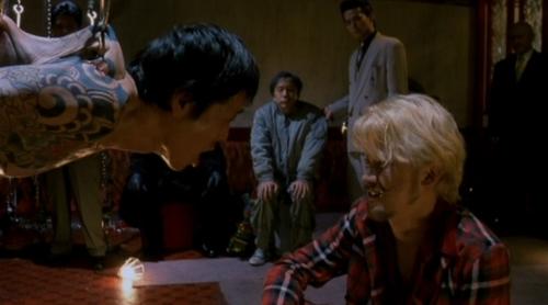 Muestra de una de las lindezas observables en la película.