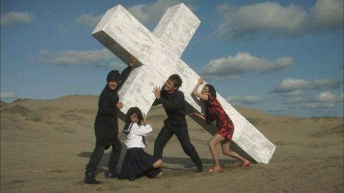 Primera muestra de eclecticismo: iconografía cristiana.