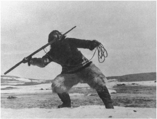 El protagonista de caza