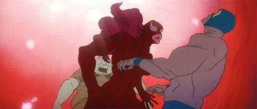 "Fantástico corto de animación, ""Kick-Heart""."