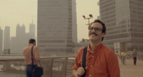 Joaquin Phoenix, un ser solitario con apariencia de gafapasta.