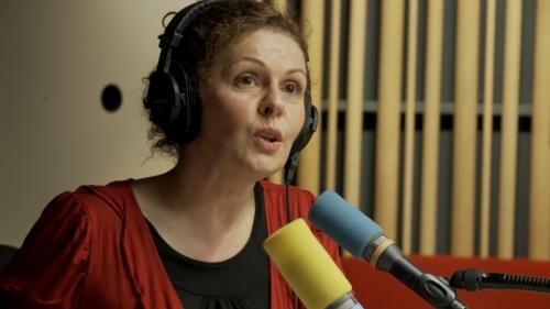 Una de las muchas voces de Radio France.