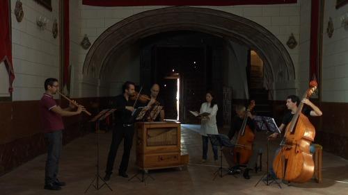 Una de las actuaciones musicales de la película.