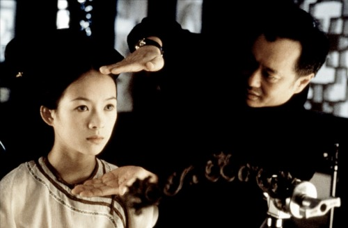 Encuadrando la belleza de Zhang Ziyi.