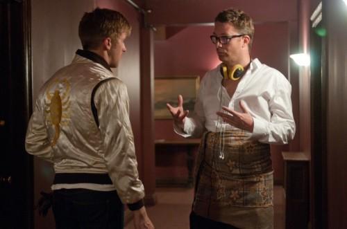 El director dirige a Gosling en