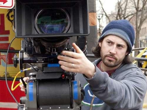 """Reitman tras la cámara en """"Juno""""."""